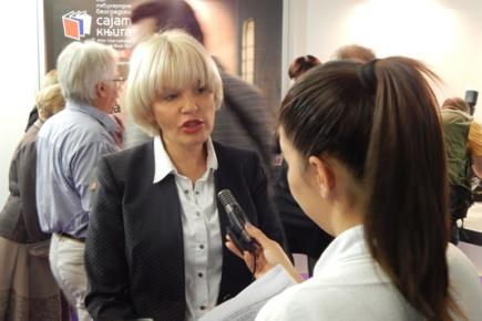 Јелена Триван у разговору с новинарима