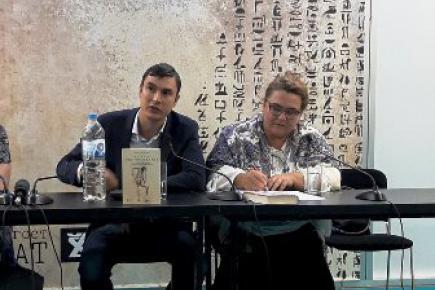 Реномирани руски аутори обележили наставак Гласниковог сајамског програма