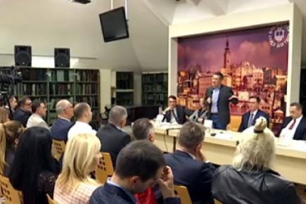У Библиотеци града Београда представљена монографија ПОЗИВ НА ПРОГОН