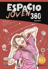 """""""ESPACIO JOVEN 360 A2.1"""", шпански језик, уџбeник"""