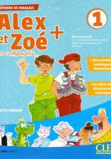 """""""ALEX ET ZOE 1"""", француски језик, уџбеник"""