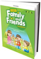 """""""FAMILY AND FRIENDS FOUNDATION 2ND EDITION"""", уџбeник"""